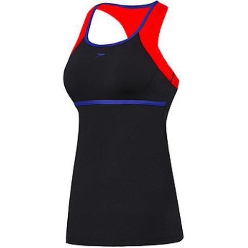 Speedo Swimwear Womens Cross Trainer Power Tank Tankini Top