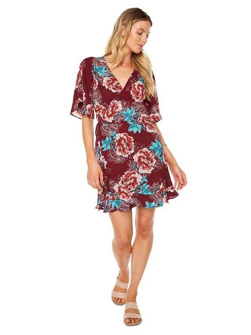 O'Neill Magenta Bloom Heartwine Dress