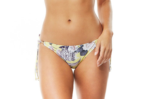Moontide Swimwear Fantasy Island Trim Slim Tie Pant