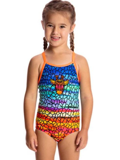 Funkita Scorching Hot Toddler Girls One Piece Swimsuit