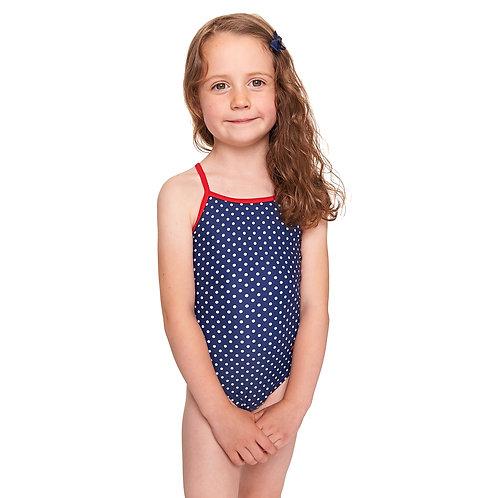 Zoggs Swimwear Toddler Grisl Ladybug Yaroomba One Piece Swimsuit