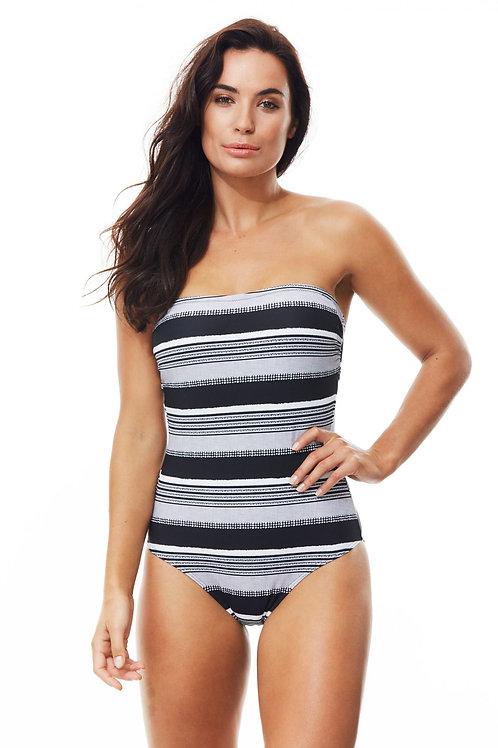 Moontide Swimwear Amalfi Bandeau Suit