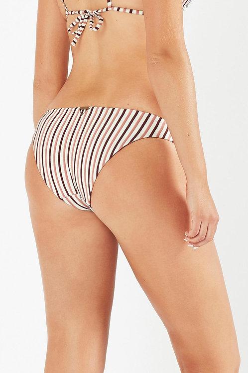 Tigerlily Tami Tiger Mid Coverage bikini bottom swimwear