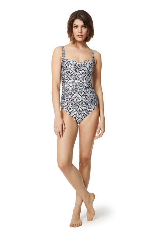 Moontide Swimwear Monoweave One Piece Swimsuit