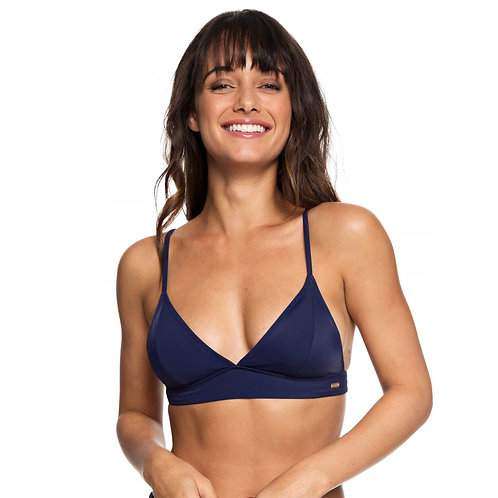 Roxy Swimwear Womens Beach Basic Fixed Tri Bikini Top