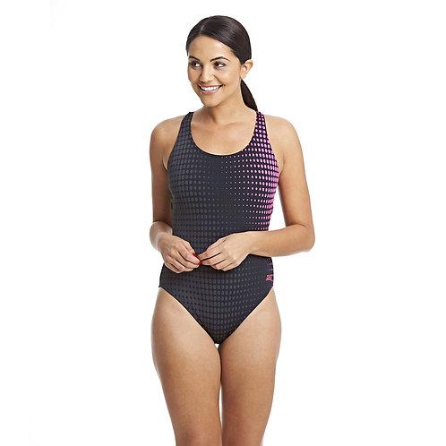 Zoggs Swimwear Bridge Actionback One Piece Swimsuit