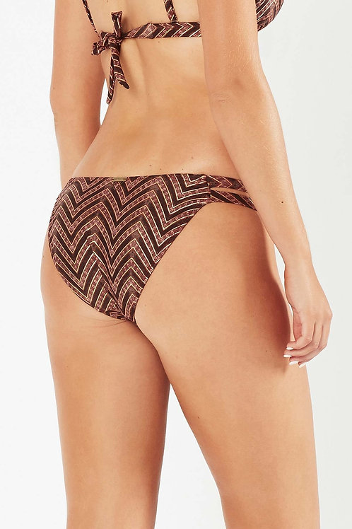 Tigerlily Imane high tiger mid coverage bikini bottom Swimwear