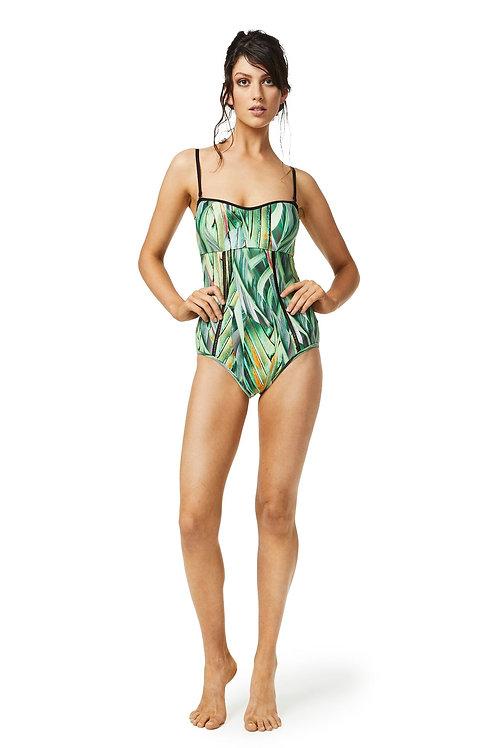 Moontide Swimwear Hawaii Ladder One Piece Swimsuit