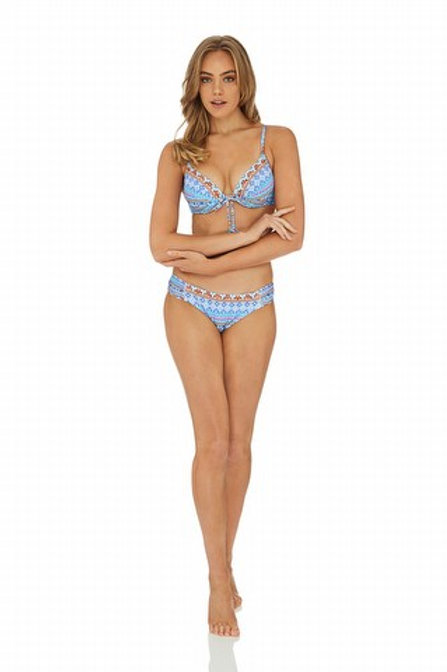 Sunseeker Australia Swimwear Kasabian Moulded Push Up Bra Bikini Top
