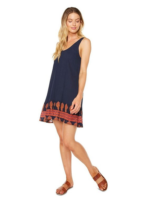 O'Neill Navy Border Pasadena Dress