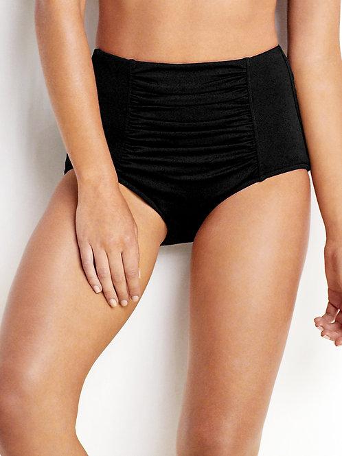 Seafolly Australia Swimwear Ruched Front High Waisted Bikini Pant