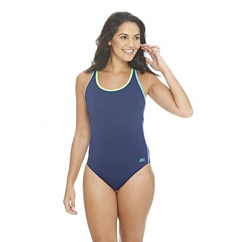 Zoggs Swimwear Collaroy Fastback One Piece