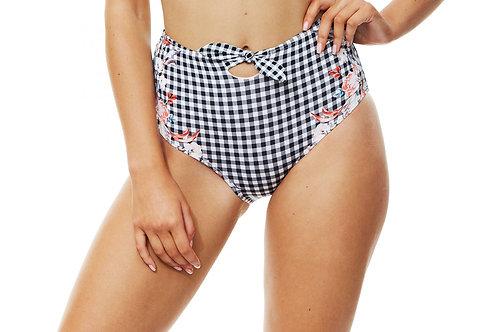 Piha Swimwear Bloom Knot High Waist Pant