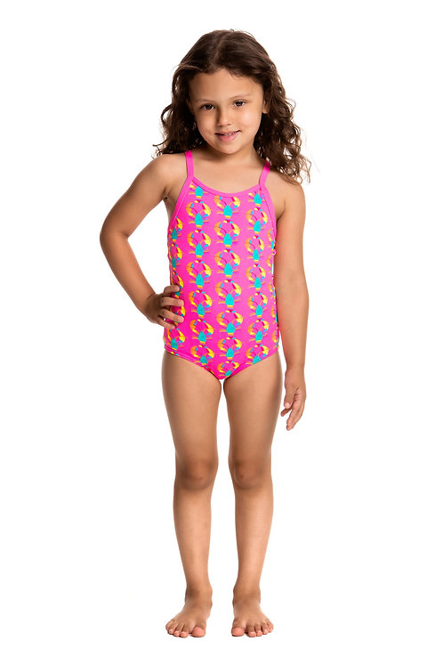 Funkita Toddler Girls Cray Cray One Piece Swimsuit