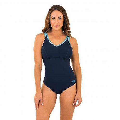 Zoggs Swimwear Contour V Neck Suit