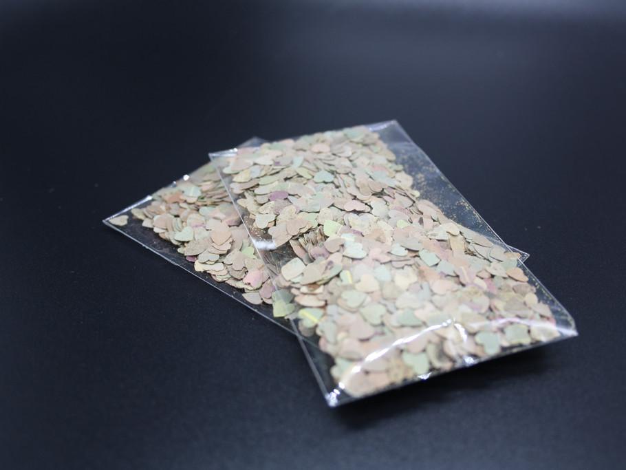 Clear Confetti bags