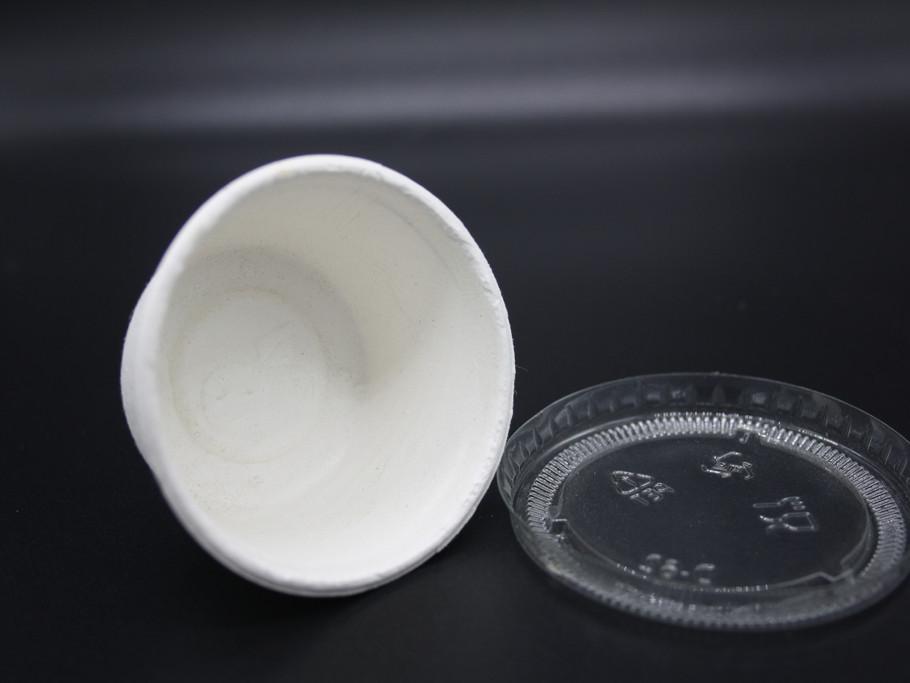 Single serve confetti tub