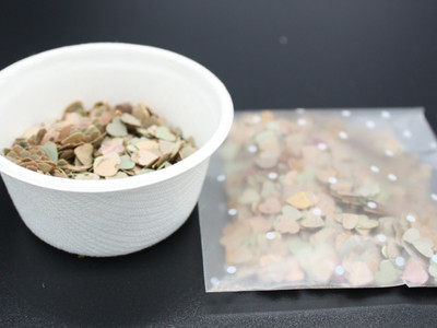 Confetti tub or bag