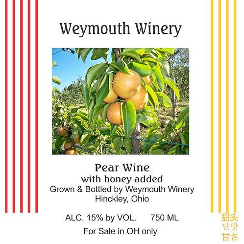 Asian Pear Wine, 750ml, 15% alc./vol