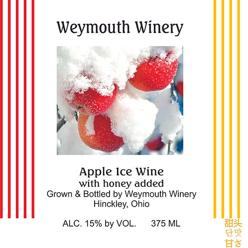 Apple Ice Wine, 375ml, 15% alc./vol.