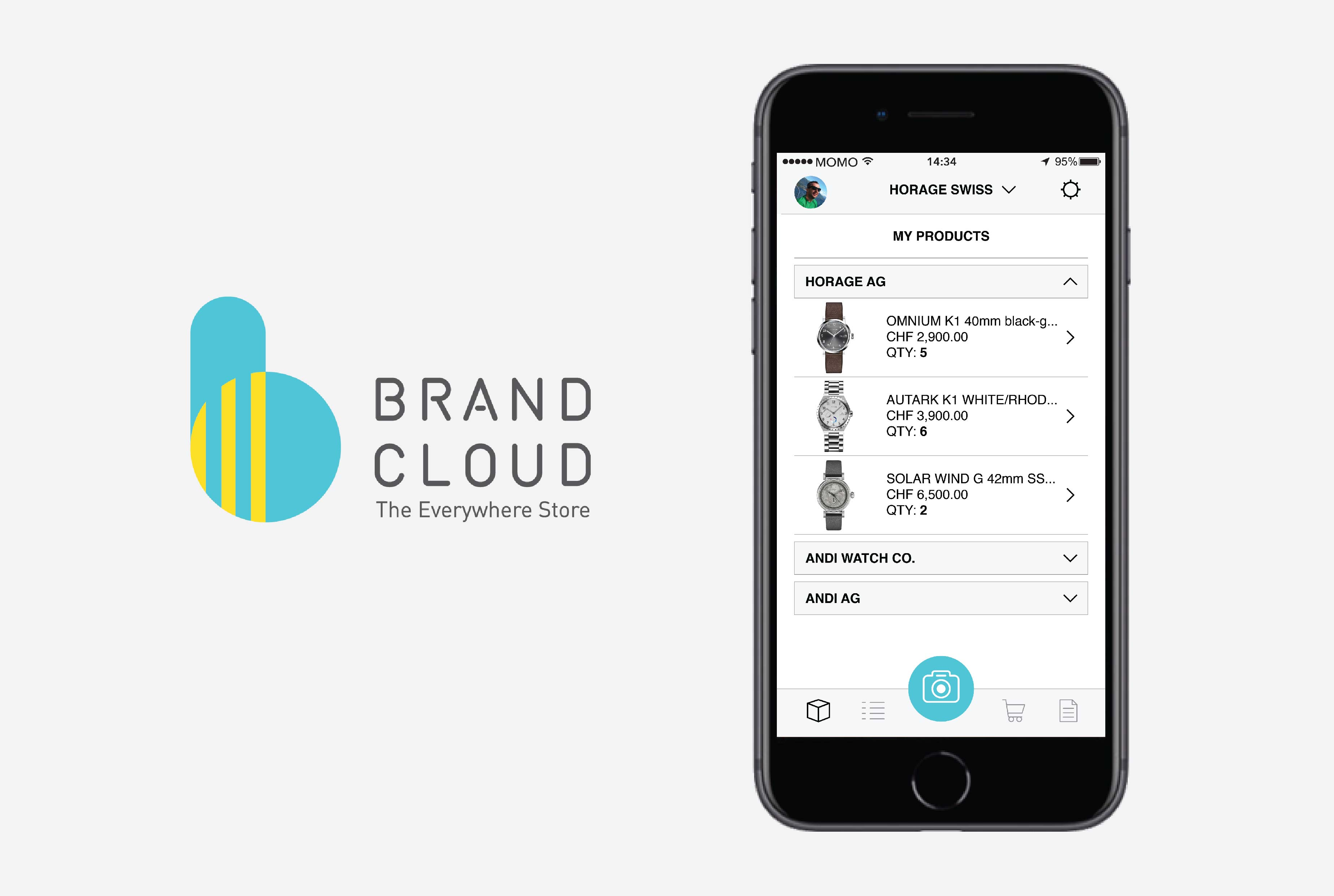 BrandCloud Retailer App