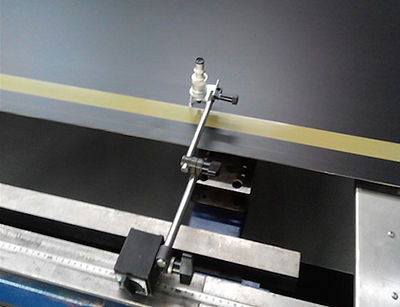 Precise Installation of a WONDERprint Textile Printing Blanket with Laser Control