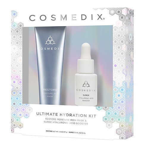 ULTIMATE HYDRATION KIT.Restore Moisture-Rich Mask + Surge Hyaluronic Acid Booste