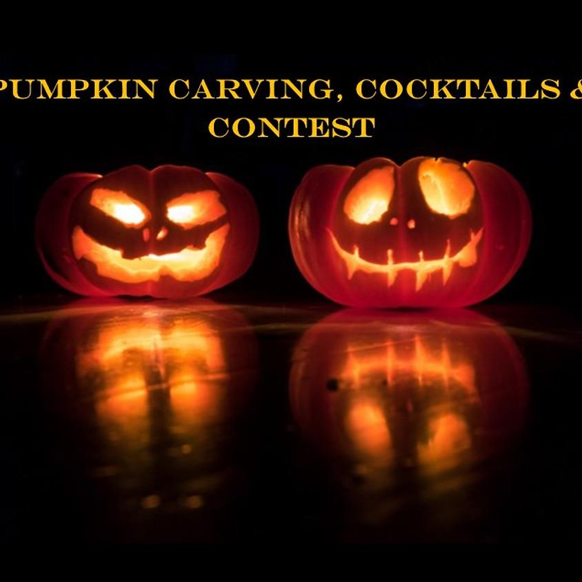 Pumpkin Carving & Cocktails! Sat. 10/17