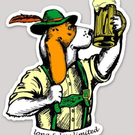 """Dogtoberfest"" Sticker"