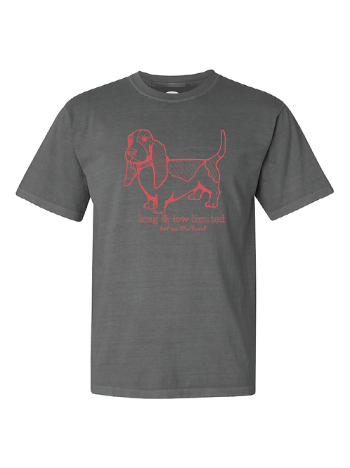 """Long Body-Hot on the Trail"" T-Shirt"