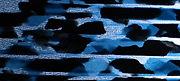 セルロイドメガネRUISMで使用する黒×水色マーブルのセルロイド生地