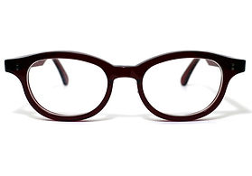 眼鏡ノ奥山のセルロイドメガネフレーム068-RRの正面画像