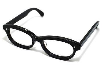 眼鏡ノ奥山のセルロイドメガネフレーム、アセテートとの対比用に使用