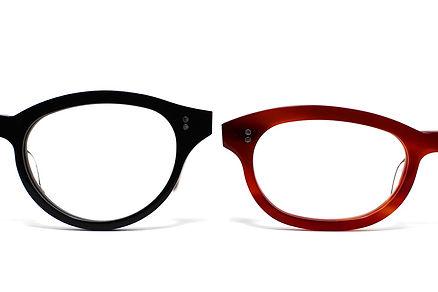 オーダーもできるセルロイドメガネRUISMの眼鏡コンセプトページのTOP画像
