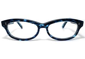 眼鏡ノ奥山のセルロイドメガネ048-OOの正面画像