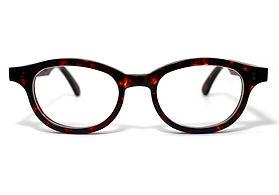 眼鏡ノ奥山のセルロイドメガネフレーム068-AAの正面画像