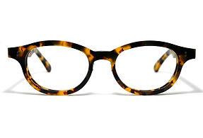 眼鏡ノ奥山のセルロイドメガネフレーム068-バラフの正面画像