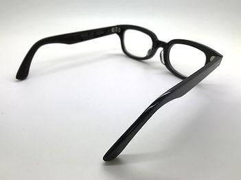 眼鏡ノ奥山の大きいサイズのセルロイドメガネフレーム050-BB