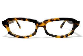眼鏡ノ奥山のセルロイドメガネフレーム049-バフの正面画像