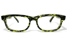眼鏡ノ奥山のセルロイドメガネフレーム050-SSの正面画像