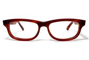 眼鏡ノ奥山のセルロイドメガネフレーム050-FFの正面画像