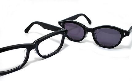 セルロイドメガネRUISMのセルロイド眼鏡制作のレンズ加工工程