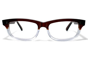 眼鏡ノ奥山のセルロイドメガネフレーム050-CⅡCの正面画像