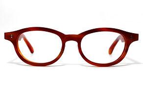 眼鏡ノ奥山のセルロイドメガネフレーム068-FFの正面画像