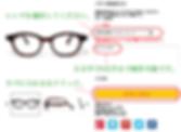 眼鏡ノ奥山のセルロイドメガネフレームの御注文確定までのフロー