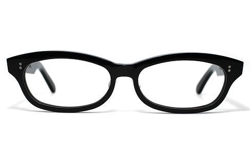 眼鏡ノ奥山のセルロイドフレーム048-BBの正面画像