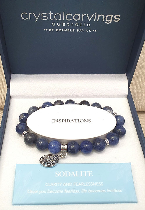 Sodalite Tree of Life Bracelet