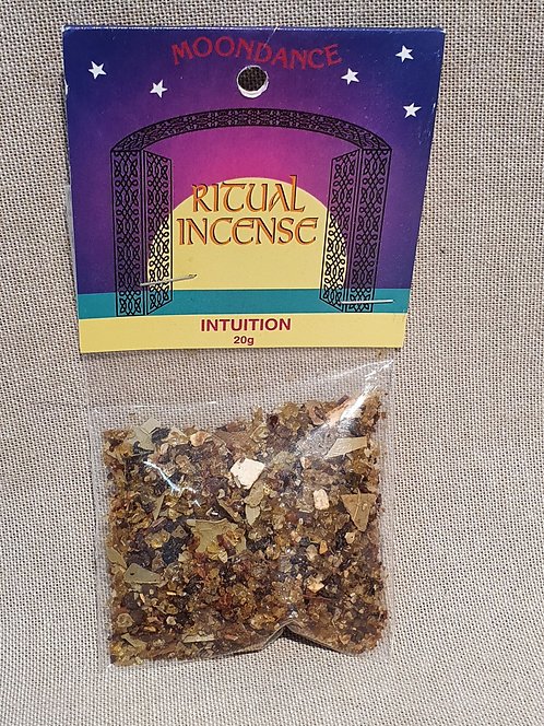 Intuition ritual incense