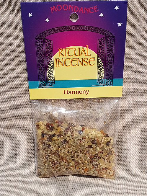 Harmony ritual incense