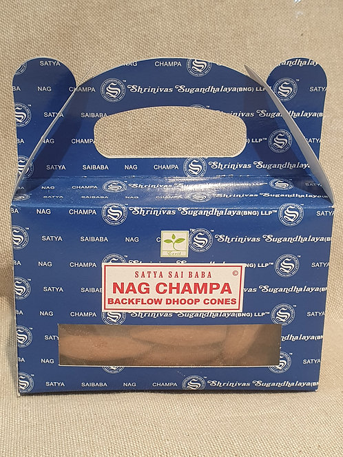 Nag Champa backflow cones 24 pack